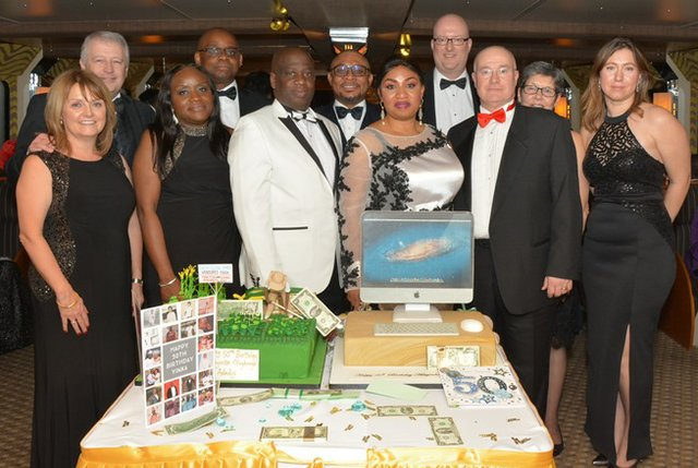Mr and Mrs Adediji and former collegues from Ford Motor company b.jpg
