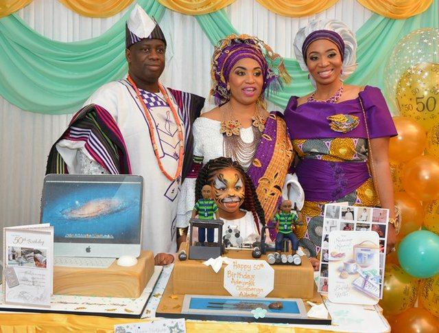 Mr and Mrs Adediji, Mrs Lolu Abatan, Reni Abatan b.jpg