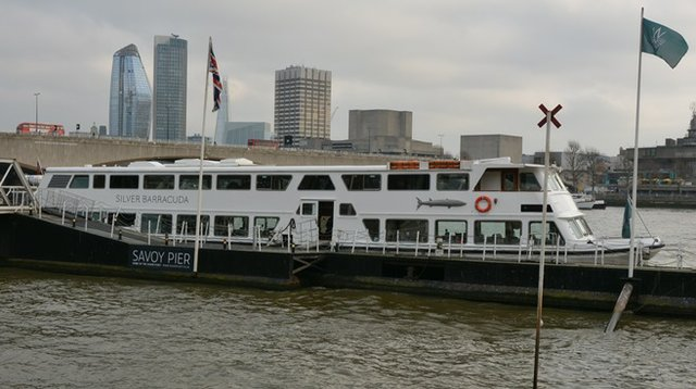 Silver Barracuda ship where party was celebrated on River Thames b.jpg