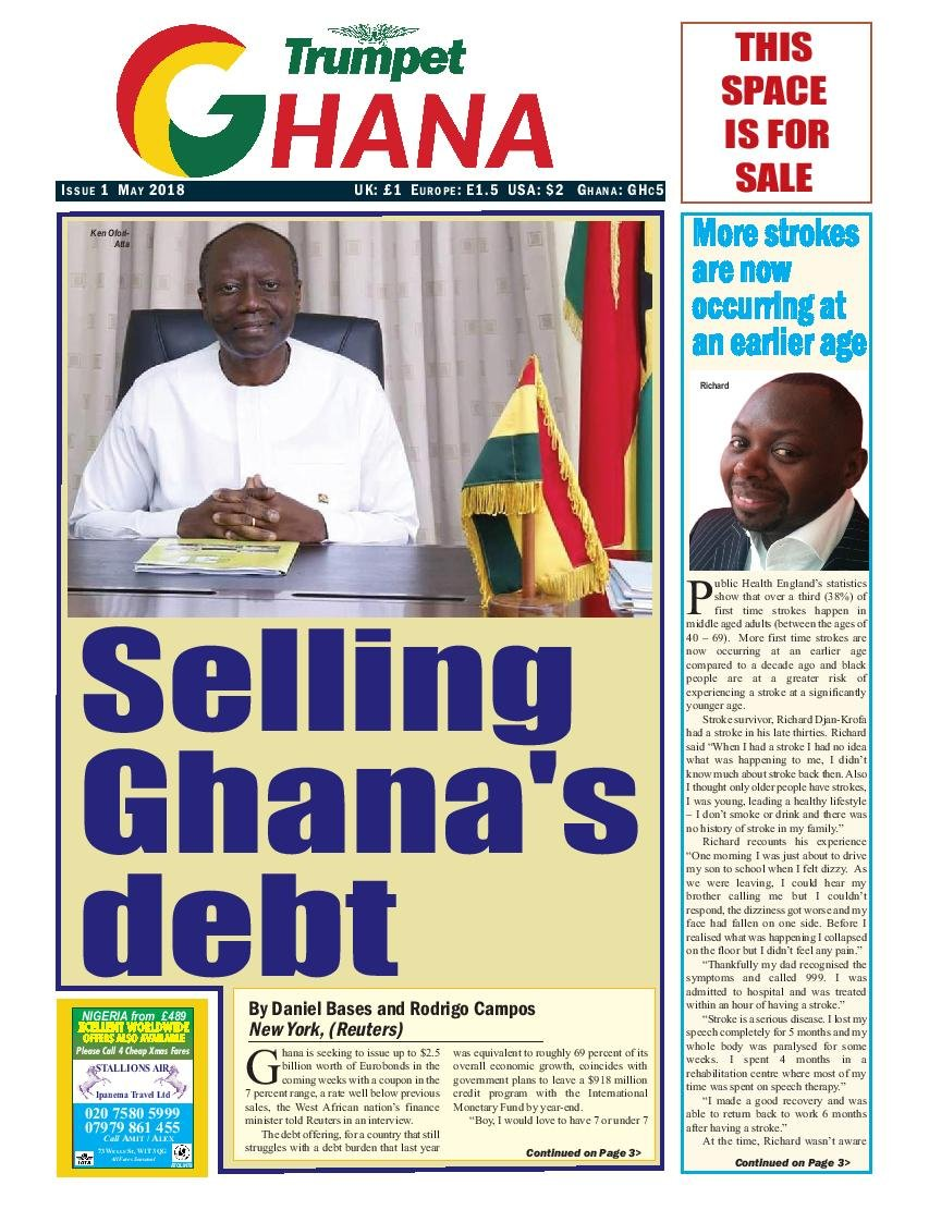 Trumpet Ghana 1 cover