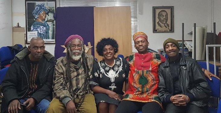 Al, Ian, Natalie Teniola, Adolphus and Dr. Lance Lewis