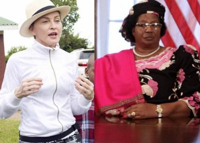 Madonna and Malawi's President Banda