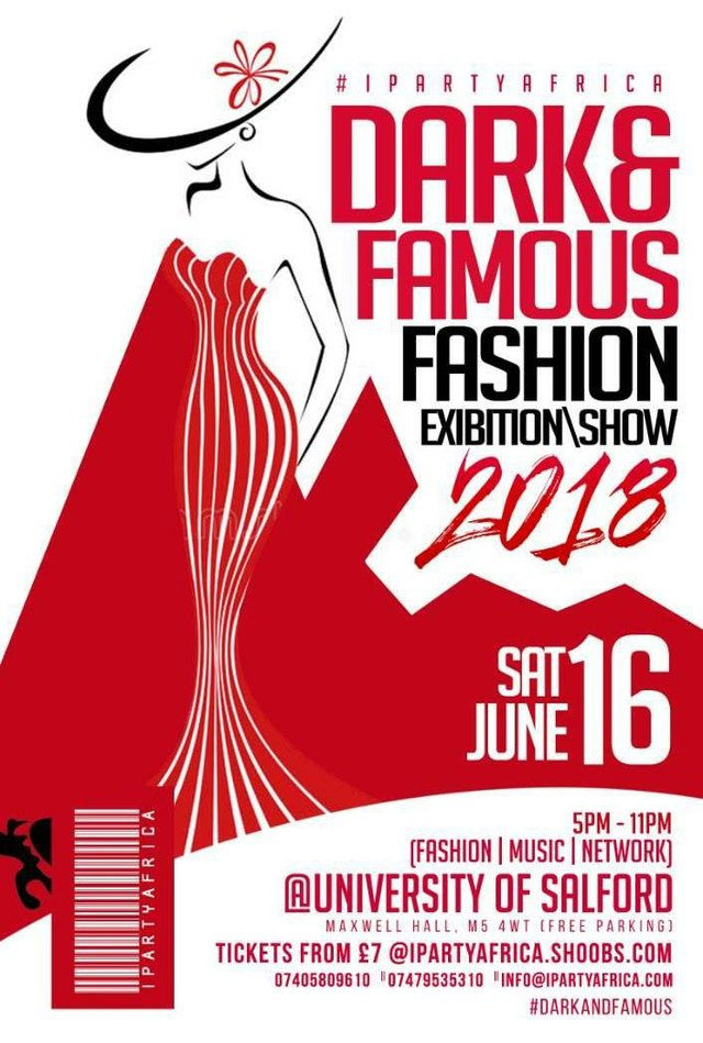 Dark & Famous Fashion Show