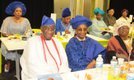 VIP Guest Chief Olujimi DaSilva,  Mrs Funlayo Sheinman (From Mr S O A Olujinmi family) and others enjoy celebration of life b.jpg