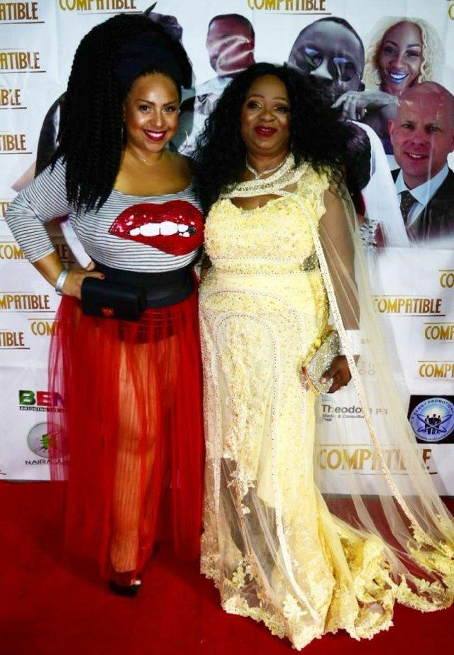 Yemisi Banjoko with Miss-K