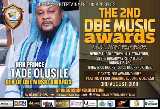 2nd DBE Awards