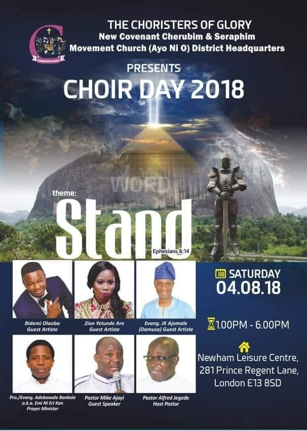 New Covenant Choir Day 2018