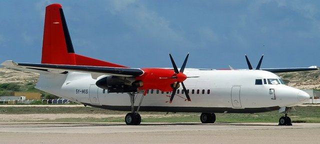 Skyward's Fokker 50