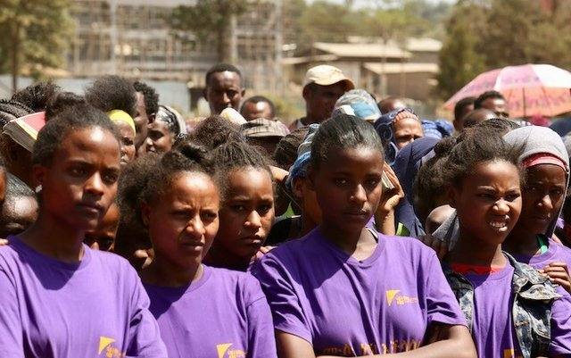 Uncut girls club members come together to change attitudes about FGM in the community.