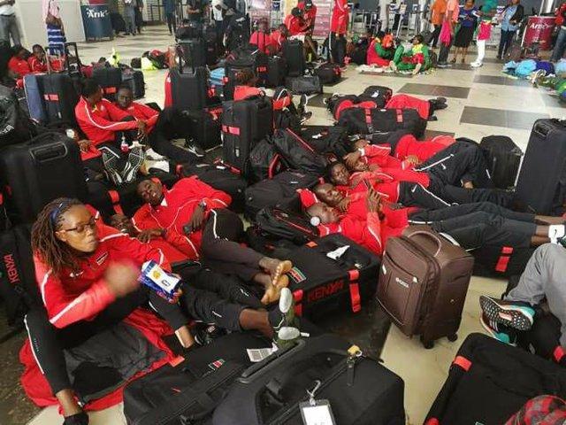 Shame of a nation - shoddy arrangements for Athletes