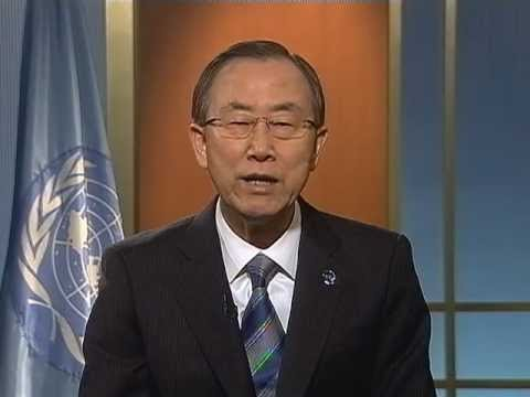 Ban Ki-moon on MDGs deadline