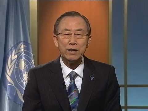 Ban Ki-moon on MDGs deadline