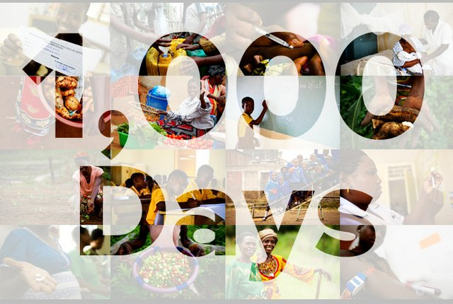 MDG - 1000 days to go