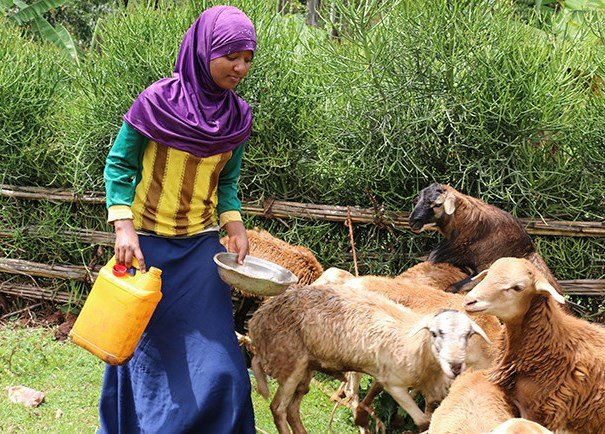Salia, now 18, tends to animals to provide for herself and her family. Just two years ago, Salia thought she would be a child bride.jpg