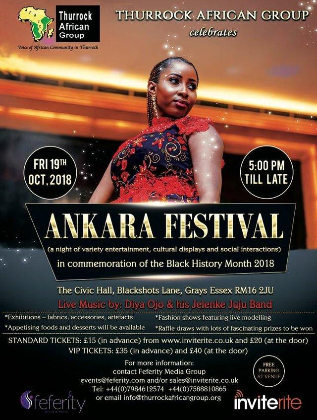 Ankara Festival Flyer 2018