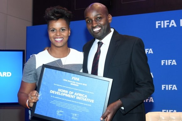 Horn of Africa Development Initiative wins FIFA Diversity Award