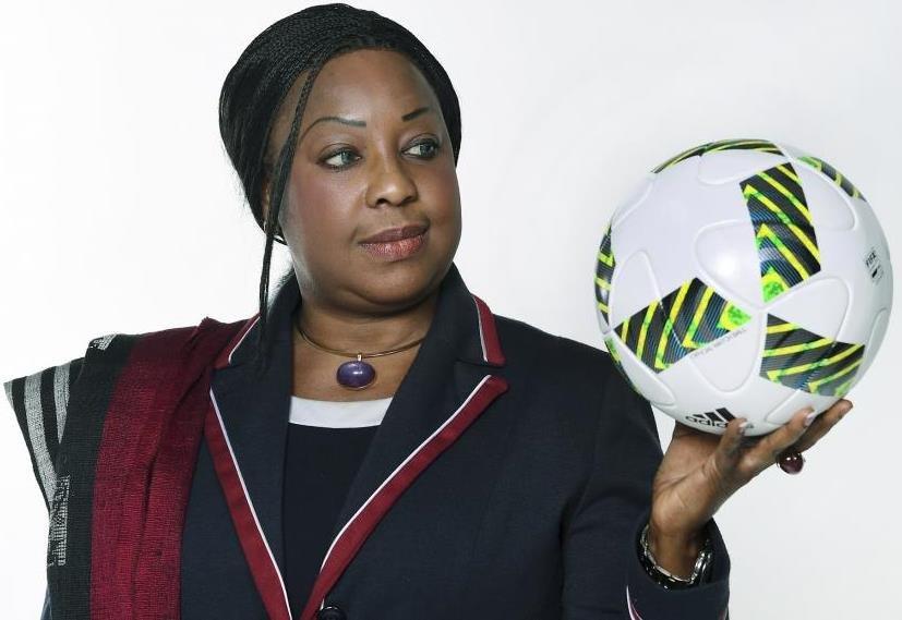 FIFA Secretary-General - Fatma Samba Samoura Diouf