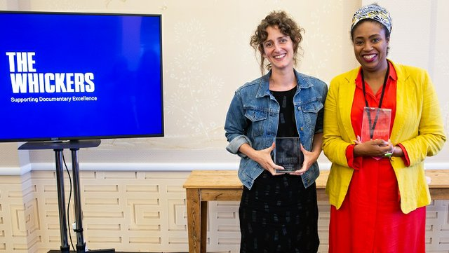 Sarah Geis and Isis Thompson - Winners of the DARA and RAFA Awards