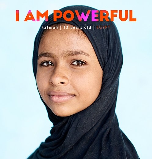 "Fatmah, in Egypt, learned about the consequences of FGM from her mother. At 13, Fatmah encourages people to reject the practice. ""I convinced my sister not to cut her kids."""
