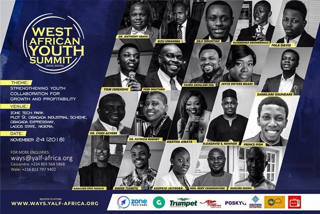 West Africa Youth Summit YALF Flyer