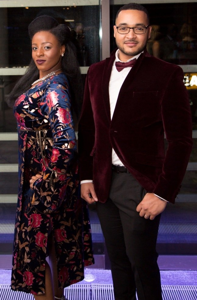 Best Dressed couple at EMA Awards 2017