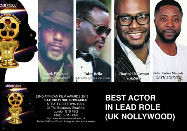 22nd African Film Awards 2018