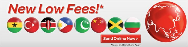 MoneyGram - new low fees