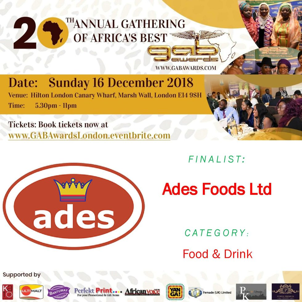Ades Foods Ltd