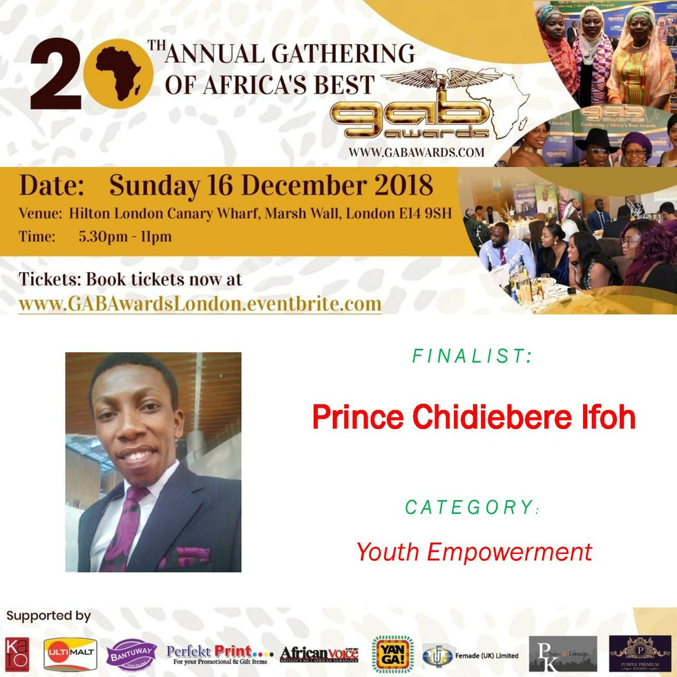 Prince Chidiebere Ifoh