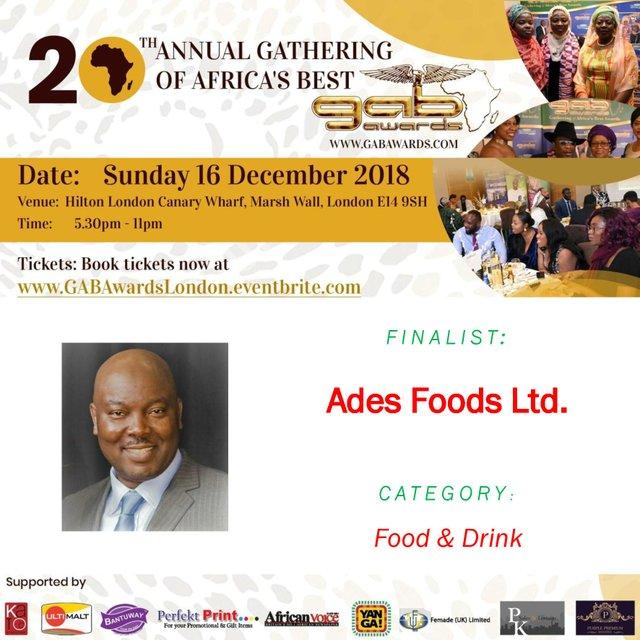 Ades Foods Ltd