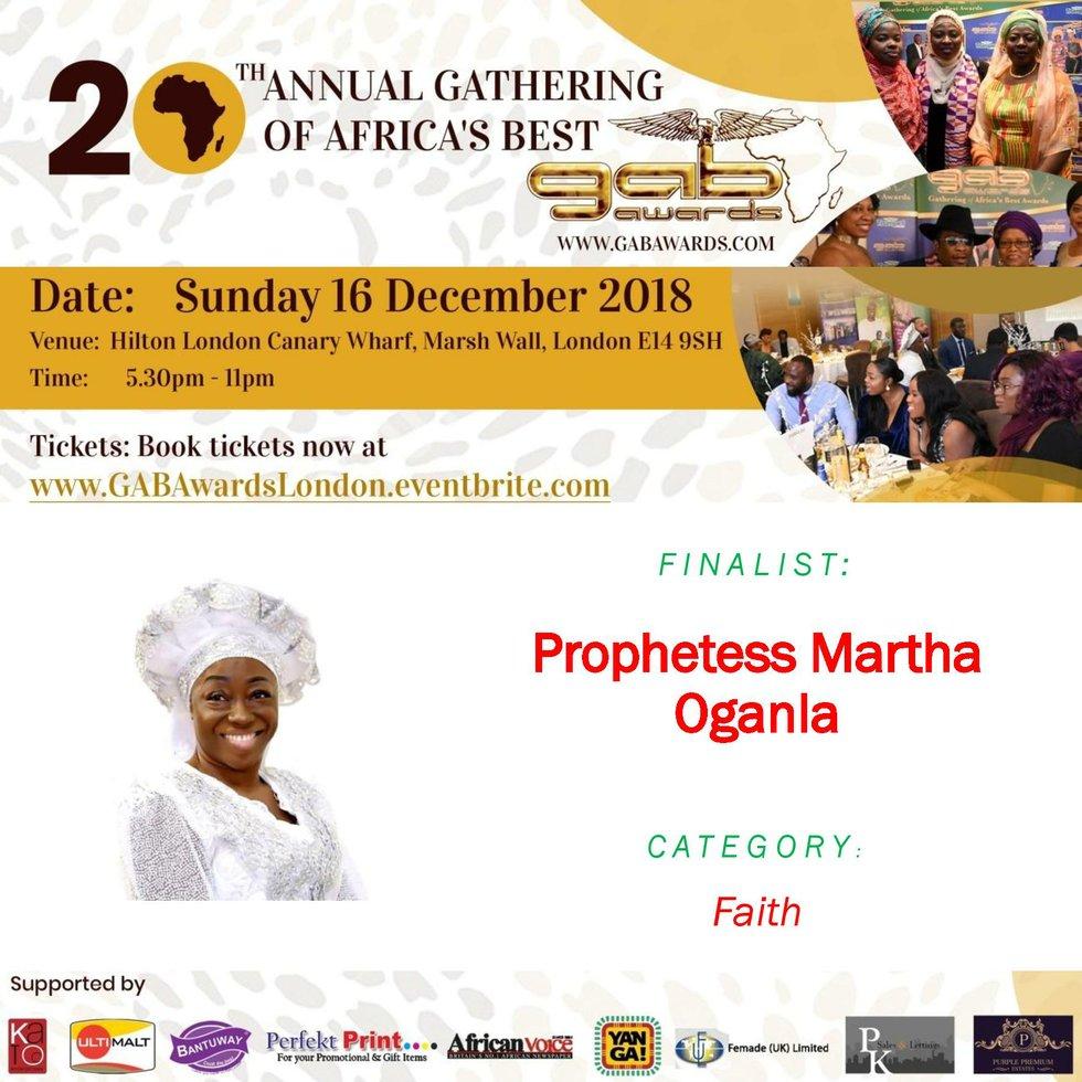 Prophetess Martha Oganla