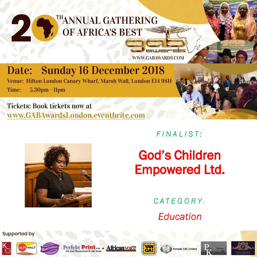 God's Children Empowered Ltd