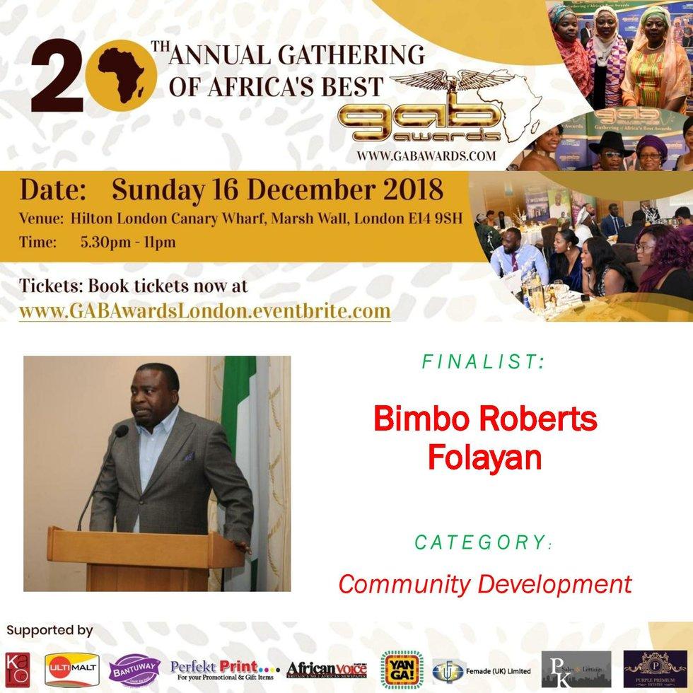 Bimbo Roberts Folayan