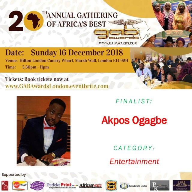 Akpos Ogagbe