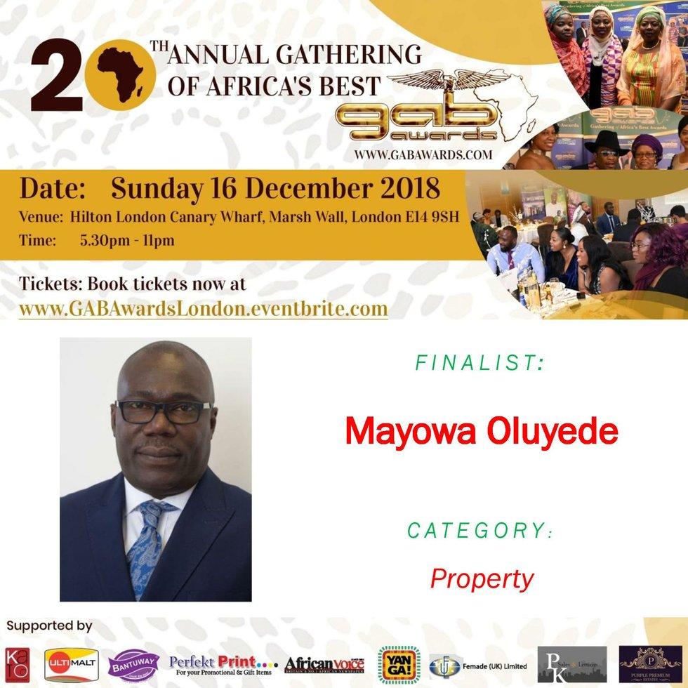 Mayowa Oluyede