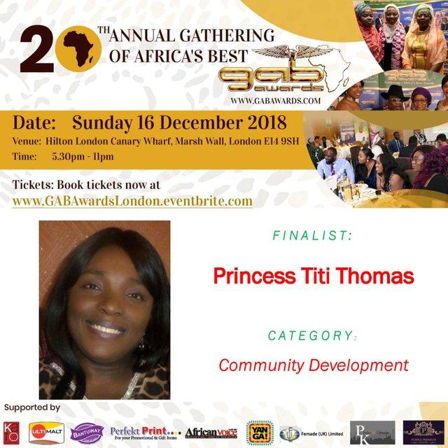 Princess Titi Thomas