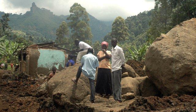 The huge boulders at Wanjenuwa