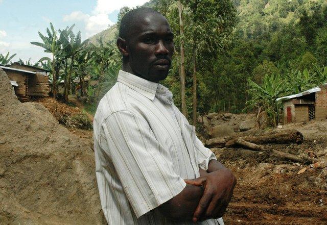 John Namutambo former shopkeeper at Wangemen trading centre