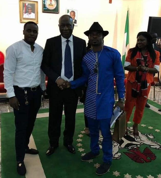 Niger Delta Youths Association (NYDA) Wales visits Ambassador George Oguntade