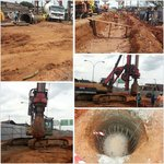 Construction work on two flyovers in Ijebu Ode