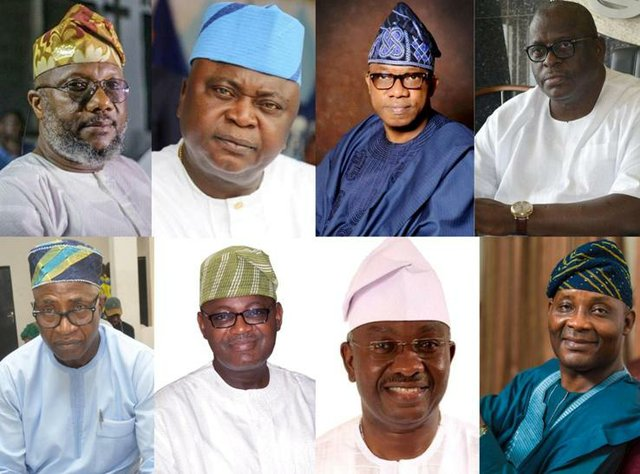 The race to Ogun Government House