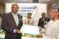 Amosun receiving his award.jpg