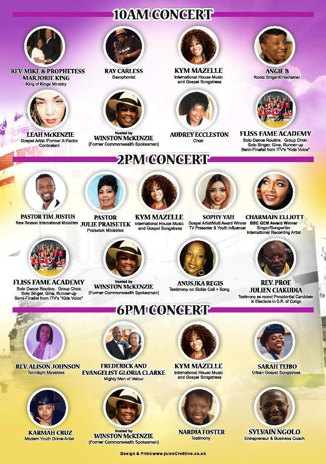 Commonwealth Gospel Concert