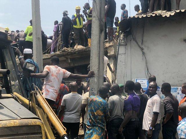 Ita-Faji Lagos building collapse