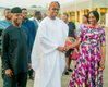 Being congratulated by Vice President Yemi Osinbajo and his wife Dolapo.jpg