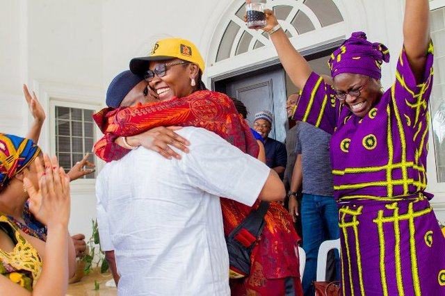 Dapo Abiodun celebrates victory with family members and close associates.jpg