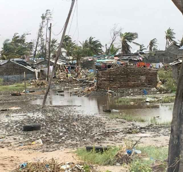 Cyclone Idal brings destruction to Mozambique 1