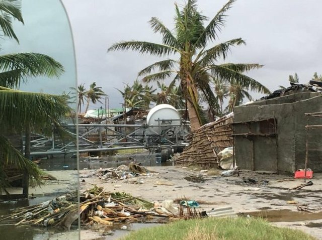Cyclone Idai brings destruction to Mozambique