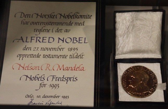 Nelson Mandela's Nobel Peace Prize