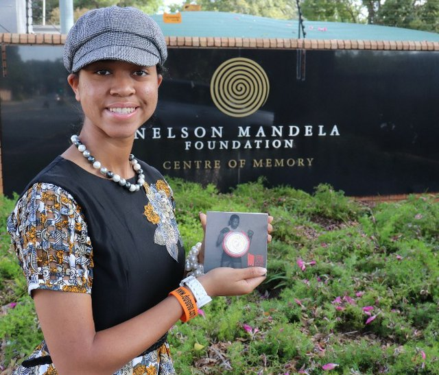 Zuriel Oduwole honoured by Nelson Mandela Foundation